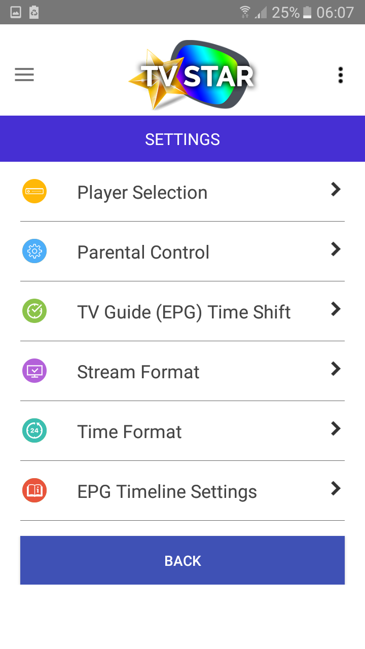 How to use IPTVSTAR Android App - Knowledgebase - TV Star